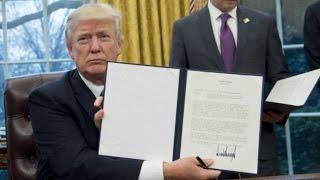 Трамп выполняет обещания: выходит из Тихоокеанского партнерства и критикует НАФТА