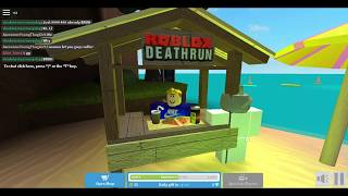Roblox death run but I fail a lot
