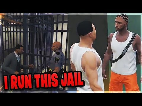 LAWYER IMPOSTOR PUNCHES COP LEADS TO PRISON FIGHT (GTA RP)