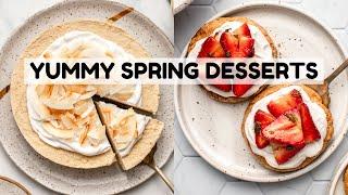 Spring-Inspired Desserts (Vegan)