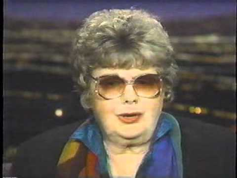 SHELLEY WINTERS ~ Interview Tom Snyder Show (1996) pt 3.wmv