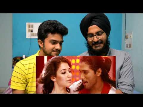 Nath Nath Song Reaction | Badrinath Movie | Allu Arjun, Tamanna