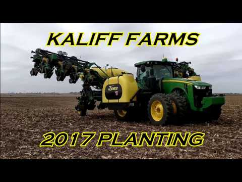 Kaliff Farms Planting 2017 in 4K