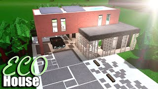 Bloxburg: Eco House • Roblox
