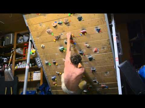 Treadwall Training with Piz: Liebacking Route