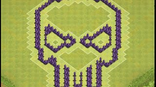 Clash of Clans: TH7 Skull Base