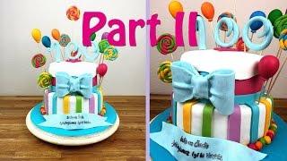 Part Ii Candy Fondant Torte: Ganache, Buttercreme Und Tortenböden