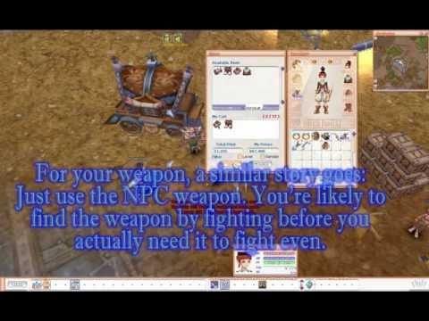 Flyff - Ranger AoE PvM Tactics I - Lv50 [guide]