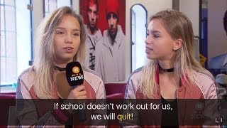 Will Lisa and Lena quit school ? [English Subtitles] | Interview