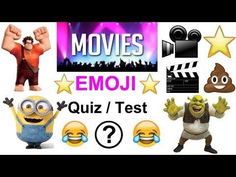 Movie - Emoji Quiz 1