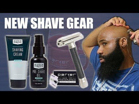Parker Variant Safety Razor + Scotch Porter PreShave Oil = 👌🏽  New Shave Gear