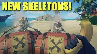 New Gunpowder Skeletons in Sea of Thieves!