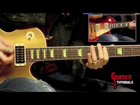Always On The Run (Lenny Kravitz) - Rhythm - Guitar Tutorial by Paul Audia and Matt Bidoglia