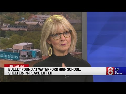 'Shelter in place' lifted at Waterford High School