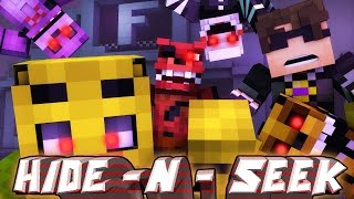 SELLING EVERYONE OUT! Minecraft Mini-Game FNAF HIDE N SEEK! (Roleplay)