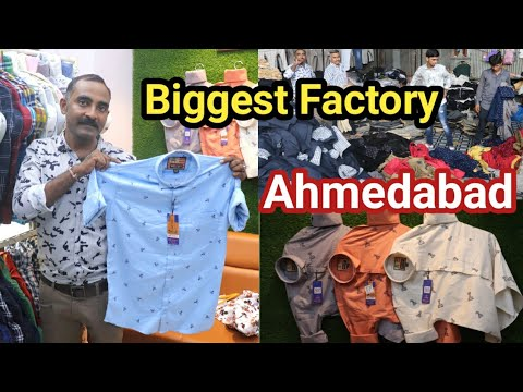 Ahmedabad Wholesale Market / Jeans, Shirts, Trouser / Factory