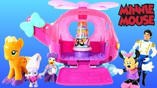 Minnie Mouse Flyin Style Helicopter Spinning Bow-Tique Play Doh My Little Pony DCTC Toys