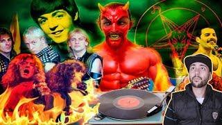 ما لا يعرفه الكثير من البشر على الموسيقى المعكوسة التي يسمعون لها يوميا و تقدس إبليس !!