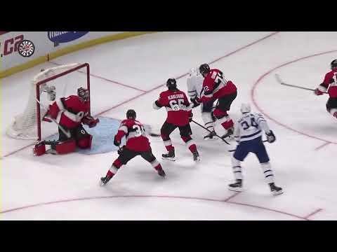 Zach Hyman Goal - Toronto Maple Leafs vs Ottawa Senators 1.20.18