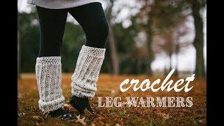 DIY Cozy Crochet Leg Warmers