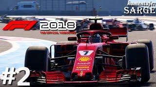 F1 2018 (PS4 Pro gameplay 2/3) - Początek kariery
