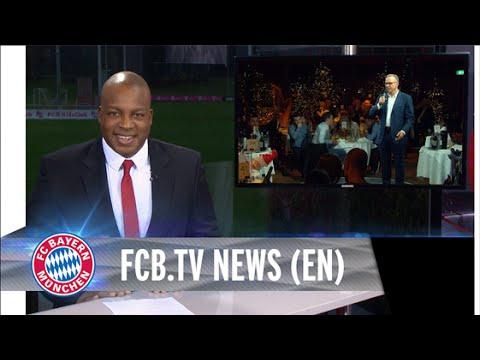 Bayern Munich celebrates a Christmas Party