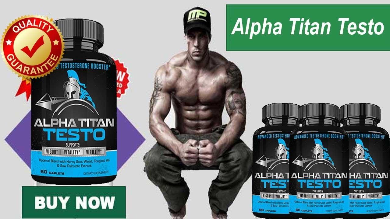 Alpha Titan Male Enhancement Pills