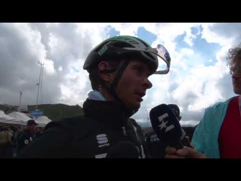Christoph Pfingsten - Post-race interview - Stage 18 - Giro d'Italia / Tour of Italy 2018
