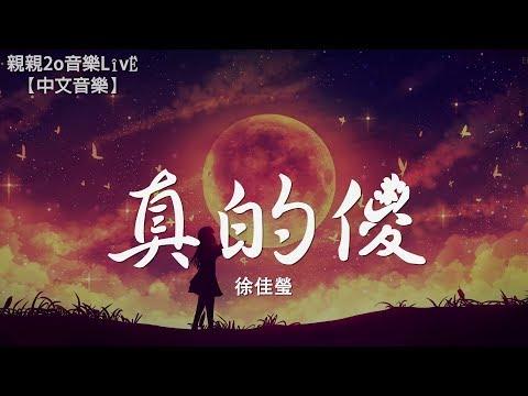徐佳瑩真的傻《一吻定情》追愛版主題曲動態歌詞Lyrics