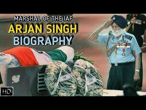 Air Force Marshal Arjan Singh Biography | First & Only Five-Star Officer In Indian Air Force (Hindi)