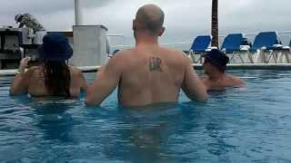 Cozumel Palace swim up bar