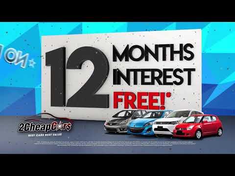 2 Cheap Cars | 12 Months Interest FREE