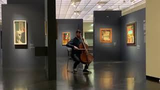Bach in the De Chirico exhibition