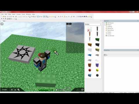 roblox how to make sound brick