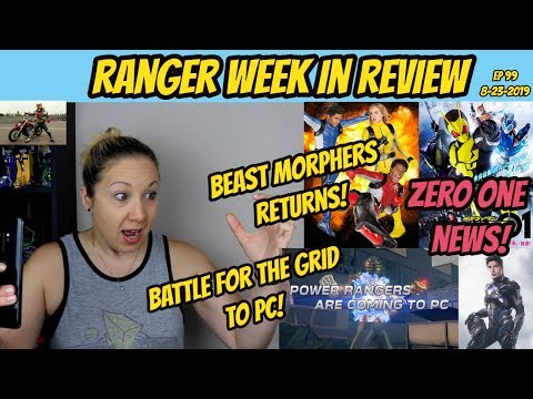RWIR 99 BEAST MORPHERS RETURN  BATTLE FOR THE GRID TO PC  LIGHTNING COLLECTION WAVE 3  ZERO-ONE