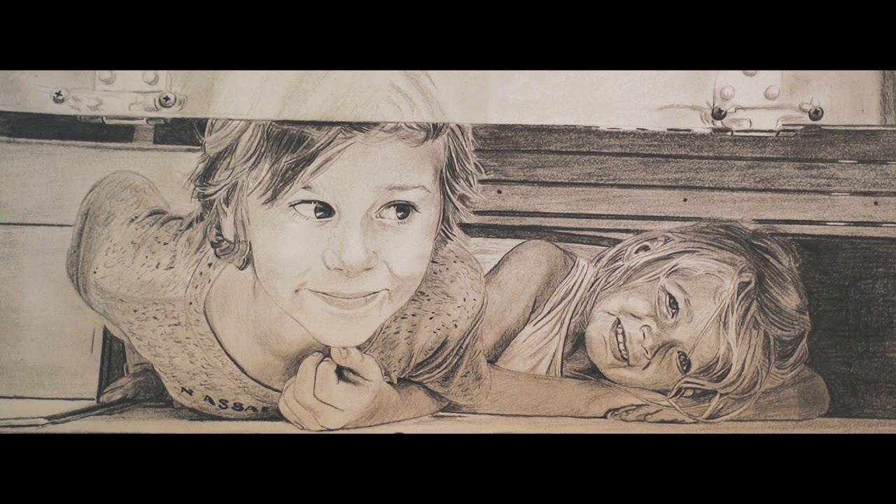 Jon Schubert - Pencil Portrait Artist