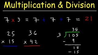 Mathematics - Basic MuĮtiplication & Long Division