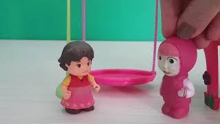 Masha Ve Heidi Parkta Eğlenceli Videolar