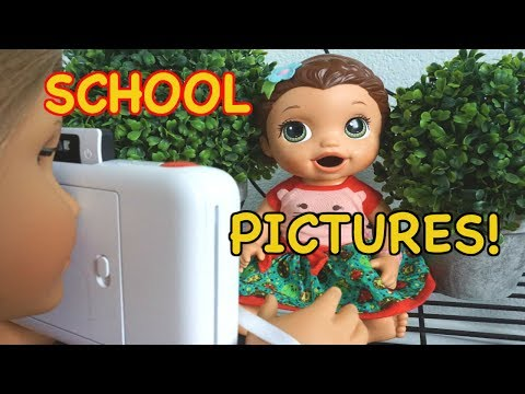 BABY ALIVE School Pictures For YearBook! Baby Alive School Series