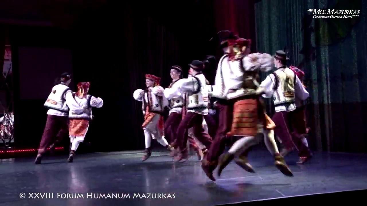 XXVIII FHMazurkas-Zespół Politechniki  Warszawskiej- tańce ludowe