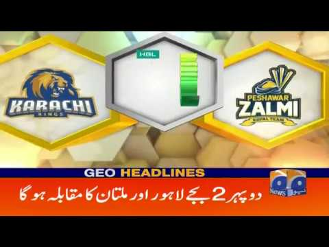 Geo Headlines - 09 AM - 11 March 2019