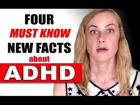 4 NEW ADHD FACTS - Attention deficit hyperactivity disorder - Mental Health Kati Morton   add