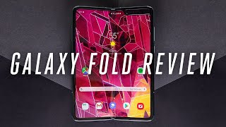 Samsung Galaxy Fold review: after the break