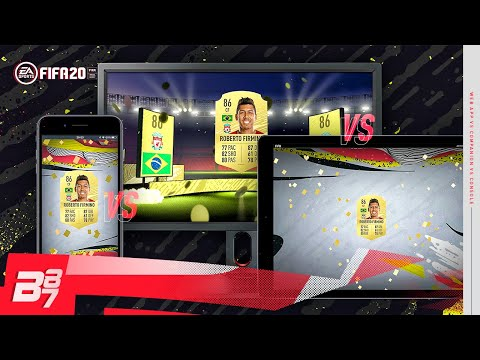 CONSOLE Vs WEB APP Vs COMPANION APP! WHICH IS THE BEST FOR PACKS?   FIFA 20 ULTIMATE TEAM