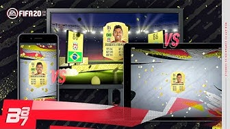 CONSOLE vs WEB APP vs COMPANION APP! WHICH IS THE BEST FOR PACKS? | FIFA 20 ULTIMATE TEAM