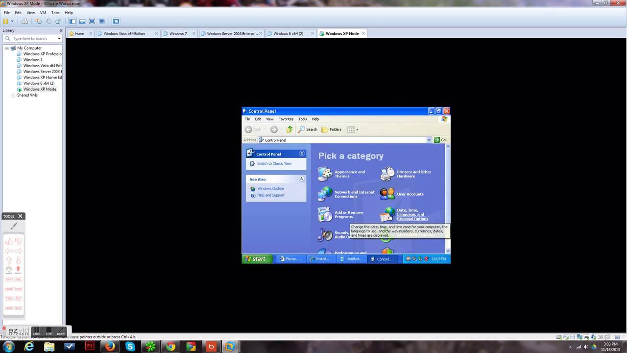 windows 10 to windows xp mode