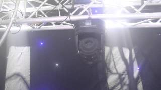 Spot LED 50 Watt DMX RGB Moving Head Gobo Lighting Effect