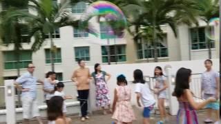 cj s bubble girl s giant bubble party june 2016