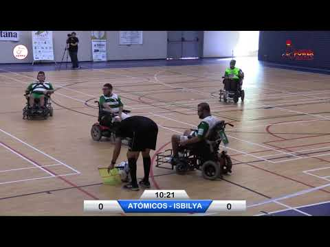 Atómicos - Isbilya | J. 1 Liga Nacional PowerChair Football