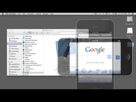 Web Design Tutorial: Use Xcode's IOS Simulator to Test Mobile Websites -HD-